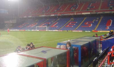 Selhurst Park, where the game was played.